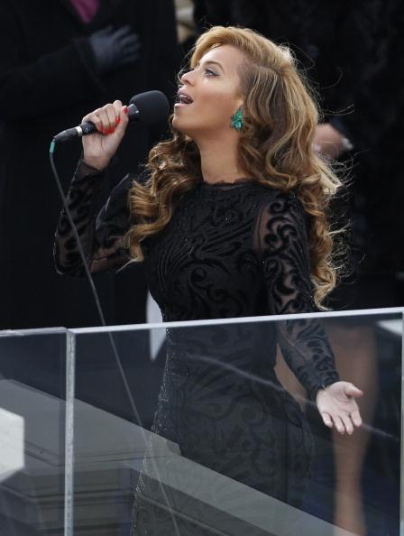 2 Beyonce at Obama Inauguration
